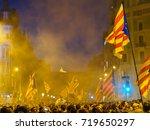 barcelona  spain   september 20 ... | Shutterstock . vector #719650297