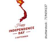 vietnam independence day.... | Shutterstock .eps vector #719654137
