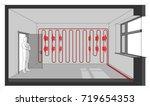 3d illustration of diagram of a ...   Shutterstock .eps vector #719654353