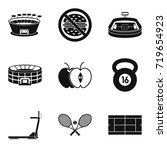 proper nutrition for sport... | Shutterstock .eps vector #719654923