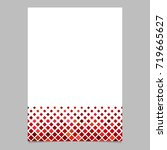 abstract brochure template from ... | Shutterstock .eps vector #719665627