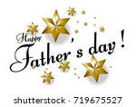 father's day  beautiful... | Shutterstock .eps vector #719675527