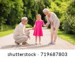 family  generation and people... | Shutterstock . vector #719687803