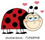 Ladybug Mascot Cartoon...