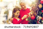 winter holidays  family and...   Shutterstock . vector #719692807