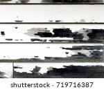 close up detail of a rustic... | Shutterstock . vector #719716387