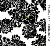 abstract elegance seamless... | Shutterstock . vector #719740483