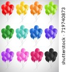Different Color Of Balloons...