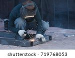 The Welder Cooks The Frame. Th...