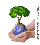 Hands  Our Planet Earth And Th...