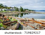 campbell river viewed from... | Shutterstock . vector #719829217