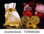 physical version of bitcoin ... | Shutterstock . vector #719830183