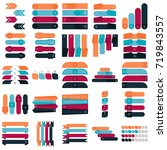 infographic icons | Shutterstock .eps vector #719843557