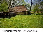 old abandoned barn in the... | Shutterstock . vector #719920357