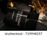 many brands of bottles of... | Shutterstock . vector #719948257