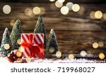 christmas holiday background   Shutterstock . vector #719968027
