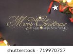 christmas holiday background    Shutterstock . vector #719970727