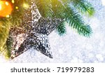 christmas and new year s...   Shutterstock . vector #719979283