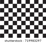black and white racing and... | Shutterstock .eps vector #719983297