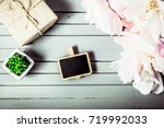 peonies flowers close up with...   Shutterstock . vector #719992033