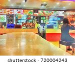 food court at singapore  sketch ... | Shutterstock . vector #720004243
