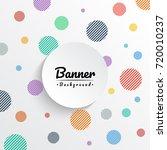 banner background | Shutterstock .eps vector #720010237