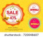 vector illustration of diwali...   Shutterstock .eps vector #720048607