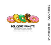 template logo for delicious... | Shutterstock .eps vector #720075583