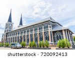 cathedral of the immaculate... | Shutterstock . vector #720092413
