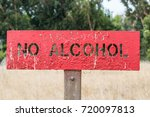 no alcohol sign | Shutterstock . vector #720097813