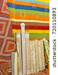 the carpets and kilims are... | Shutterstock . vector #720110893