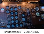 a view of the cockpit of a... | Shutterstock . vector #720148537
