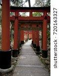 inari shrine | Shutterstock . vector #720163327