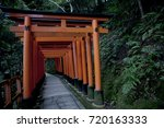 inari shrine | Shutterstock . vector #720163333