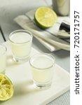 boozy lime  and vodka kamikaze...   Shutterstock . vector #720171757