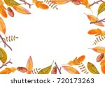 watercolor background with... | Shutterstock . vector #720173263