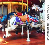 Small photo of carousel horse