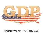 gross domestic product gdp of... | Shutterstock . vector #720187963