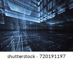 computer generated abstract... | Shutterstock . vector #720191197