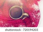 season  drinks  christmas and...   Shutterstock . vector #720194203