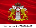 flag of hamburg is the second... | Shutterstock . vector #720201607