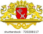 coat of arms of the free... | Shutterstock .eps vector #720208117