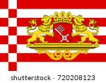 flag of the free hanseatic city ... | Shutterstock .eps vector #720208123