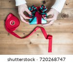 creative hobby. woman's hands... | Shutterstock . vector #720268747