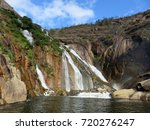 Small photo of Waterfalls in Spain Galatia Province Spain