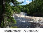 pier gorge   falls  menominee... | Shutterstock . vector #720280027
