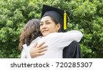 girl student with the... | Shutterstock . vector #720285307