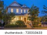 custom built luxury house in... | Shutterstock . vector #720310633