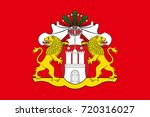 flag of hamburg is the second... | Shutterstock . vector #720316027