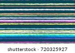 watercolor striped fashion... | Shutterstock .eps vector #720325927